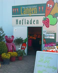Der Hofladen in Kerpen-Buir (Quelle: Klaus Langen).
