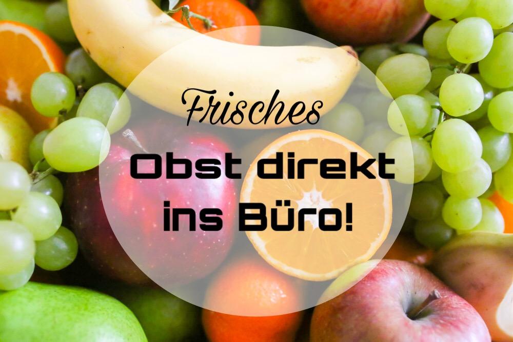Fruitletbox Office - frisches Obst im Büro!