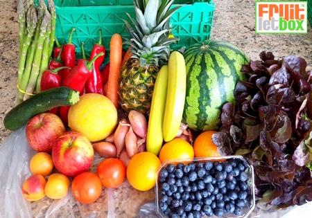 Fruitletbox Classic Junior Inhalte zum Wochenende (19.05./20.05)