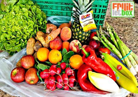 Fruitletbox Classic Junior Inhalte zum Wochenende(09.06./10.06)