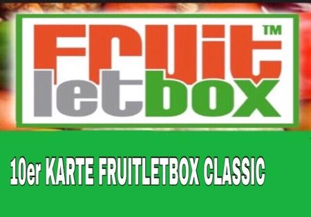 10er Karte -FRUITLETBOX CLASSIC