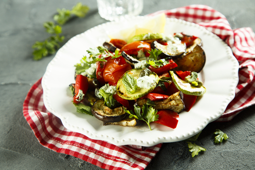 Fruitletbox - Gegrillter Zucchini - Salat