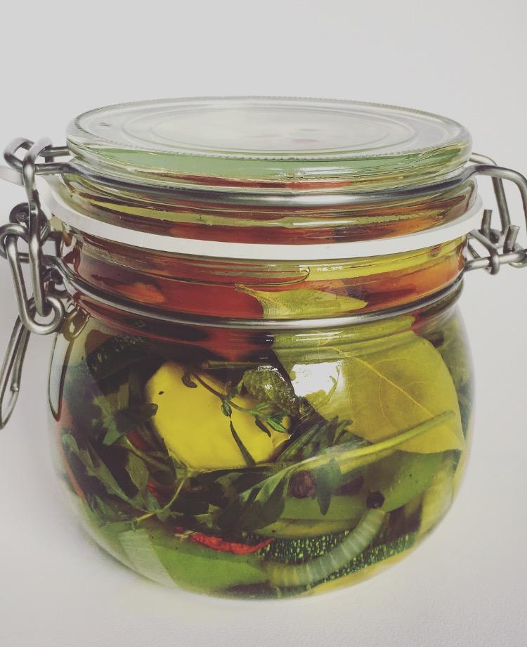 Fruitletbox Eingelegtes Gartengemüse