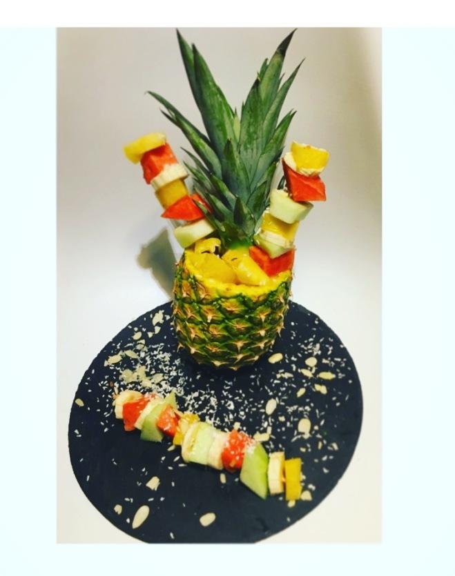Fruitletbox-Tropische Fruchtspieße