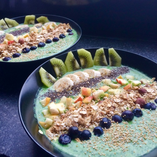 Fruitletbox Grüne Power-Frühstück-Bowl