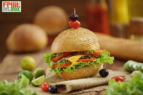 Mottovorschau der Fruitletbox in der Gemüse Burger-Edition