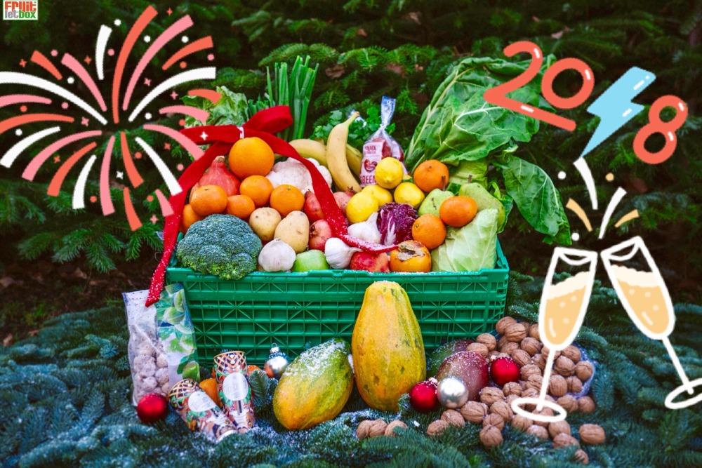 Fruitletbox Classic Silvester - Spezial und Classic NormalInhalte zum Wochenende(29./30.12)