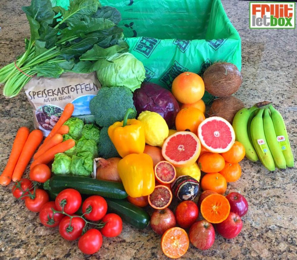 Fruitletbox Classic Inhalte zum Wochenende (09./10.03.)