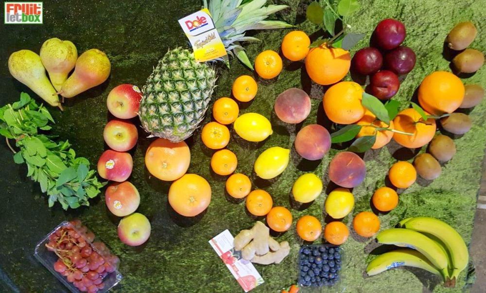 Fruitletbox FruVital Inhalte zum Wochenende (23./24.03.)