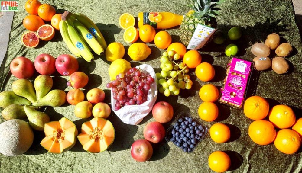 Fruitletbox FruVital Inhalte zum Wochenende(28./29.03.)