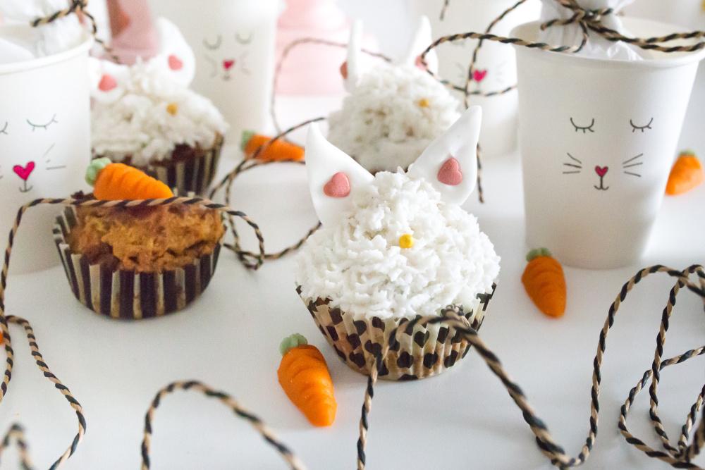 Fruitletbox - Möhrenmuffins mit Kokostopping
