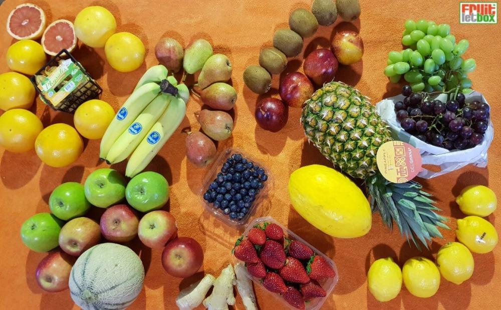 Fruitletbox FruVital Inhalte zum Wochenende (06./07.04)