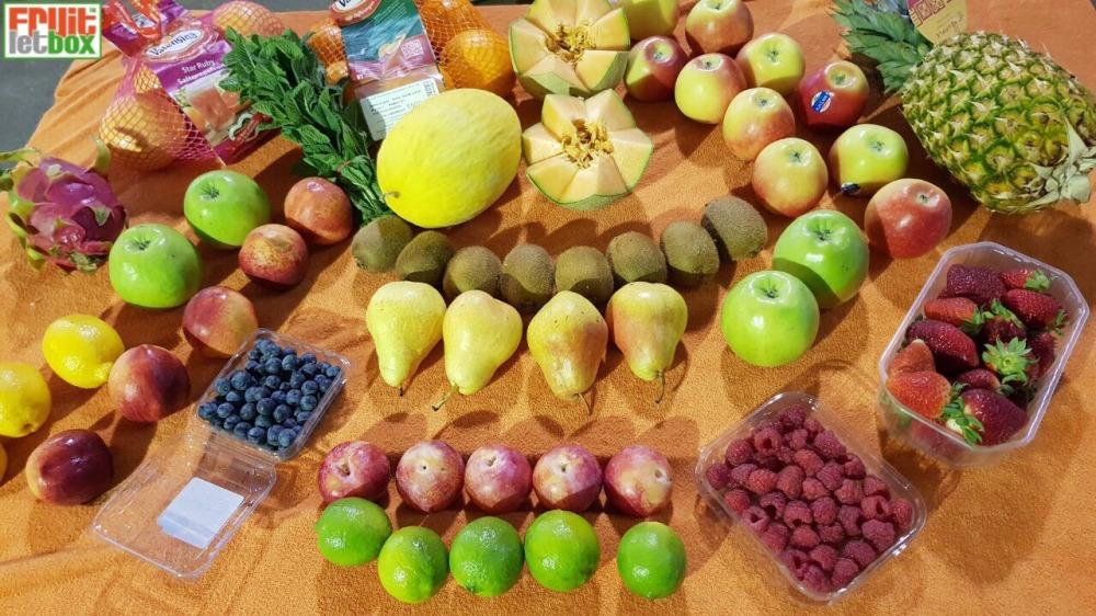 Fruitletbox FruVital Inhalte zum Wochenende (13./14.04.)