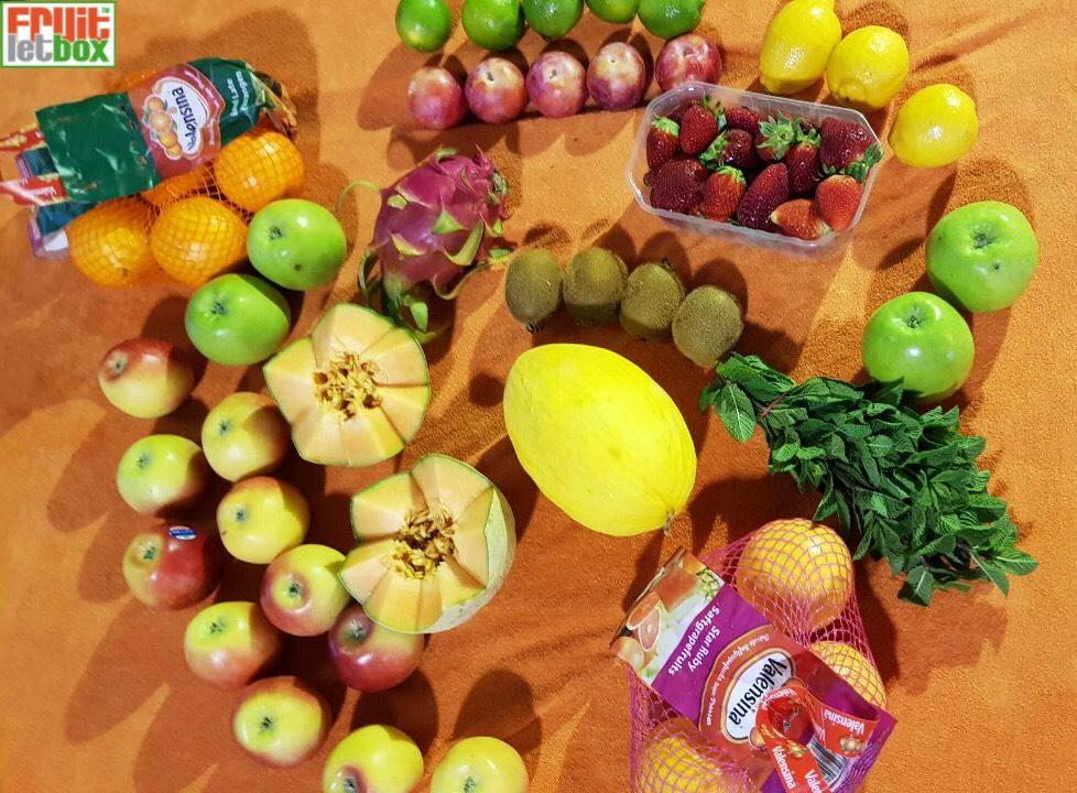 Fruitletbox FruVital Junior Inhalte zum Wochenende (13./14.04.)