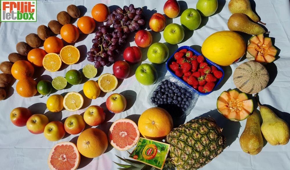 Fruitletbox FruVital Inhalte zum Wochenende (20./21.04.)
