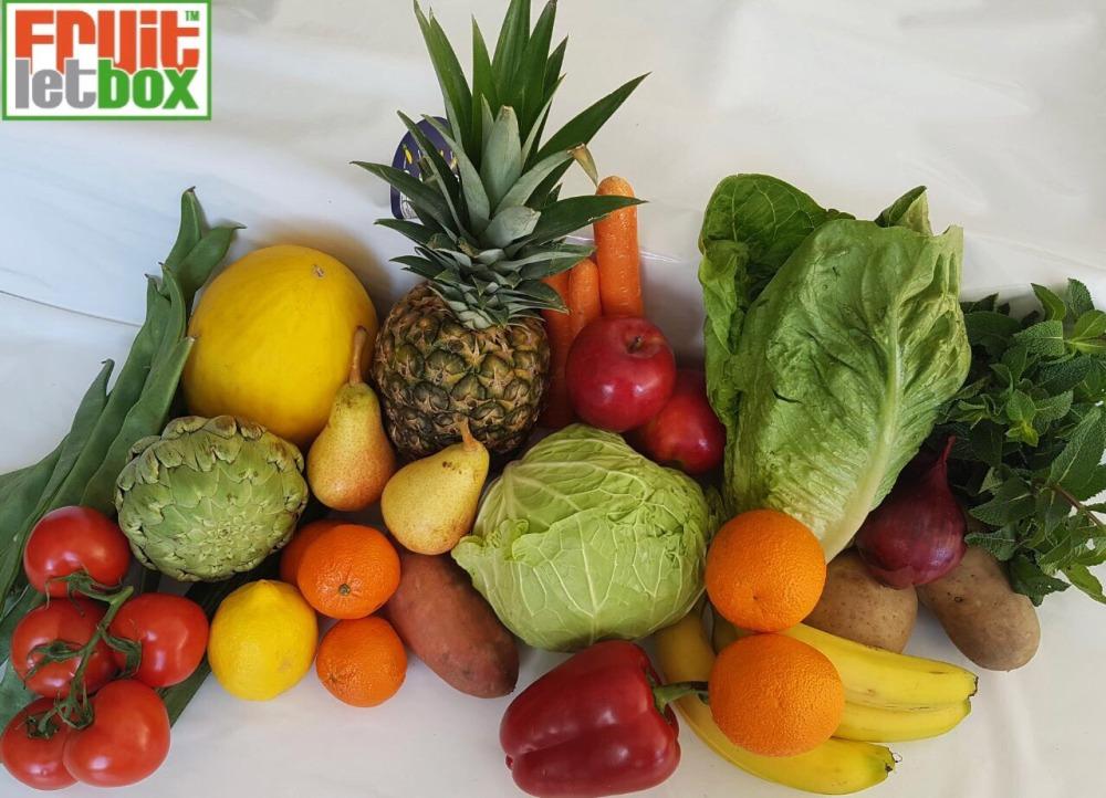 Fruitletbox Classic Junior Inhalte zum Wochenende (20./21.04.)