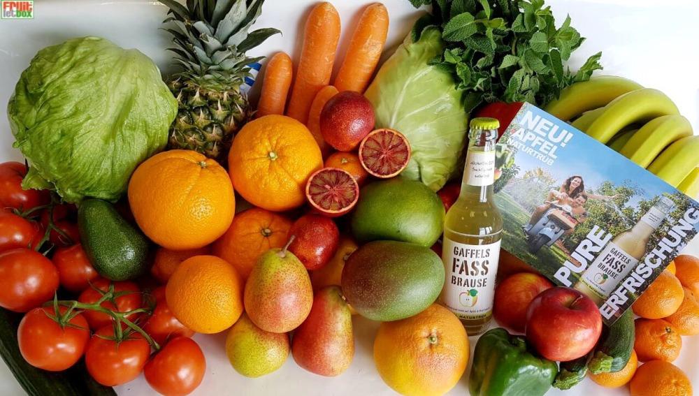 Fruitletbox Classic Inhalte zum Wochenende (27./28.04.