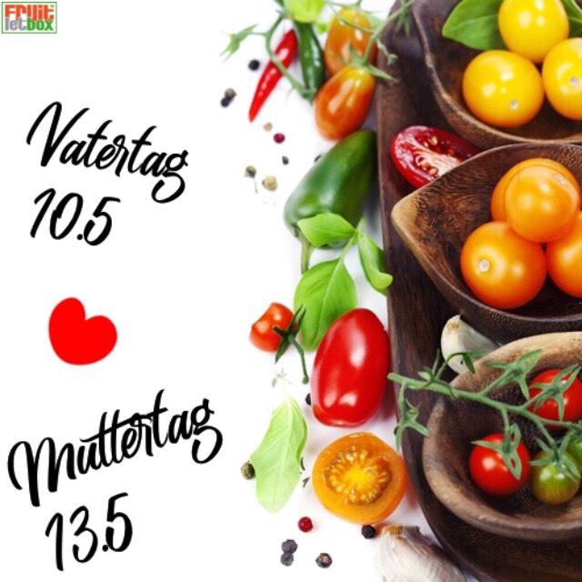 Fruitletbox Classic Inhalte zum Wochenende (11./12.05.)
