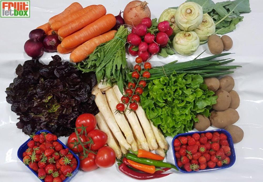 Fruitletbox Regional Inhalte zum Wochenende (11./12.05.)