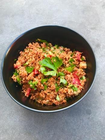 Fruitletbox Rezept- Türkischer Bulgur Salat (Kisir)